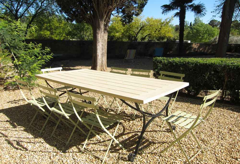 grande table jardin
