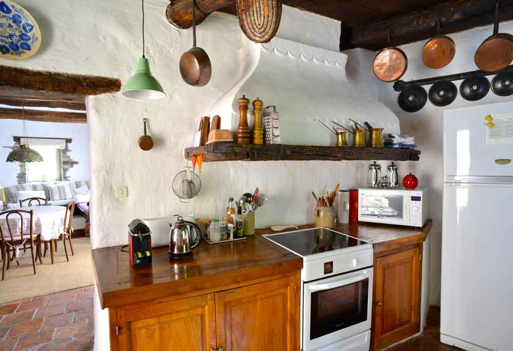 electrische oven met een inductie kookplaat