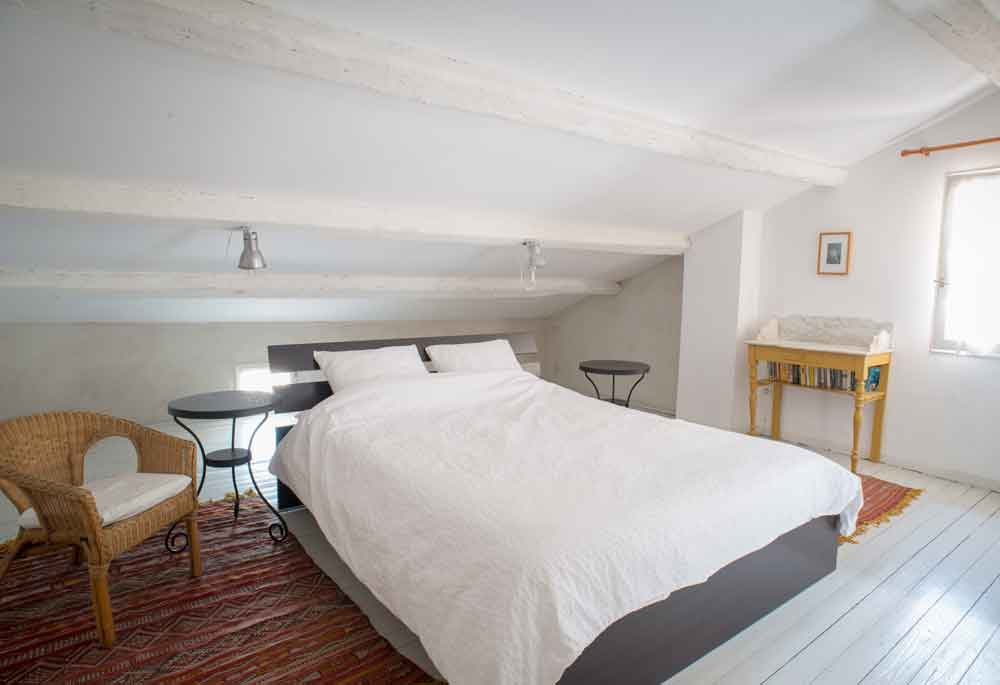 double bed attick room