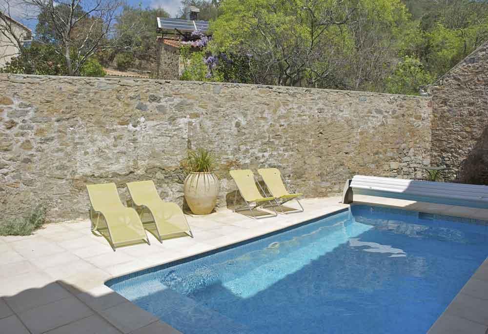 piscine privé chauffée